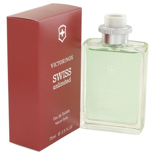 Swiss Unlimited by Victorinox Eau De Toilette Spray 2.5 oz for Men