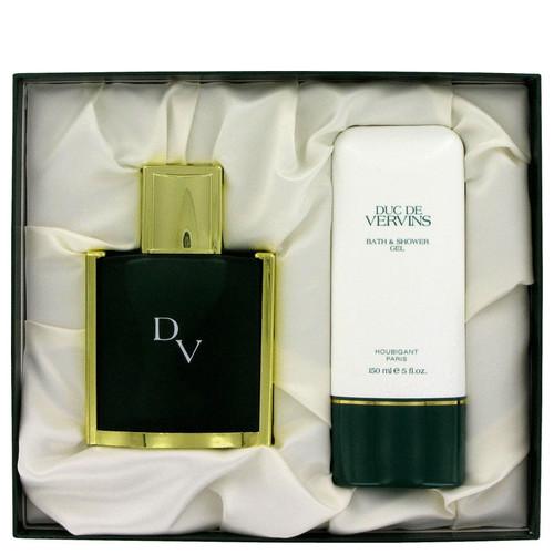 DUC DE VERVINS by Houbigant Gift Set -- 4 oz Eau De Toilette Spray + 5.1 oz Shower Gel for Men
