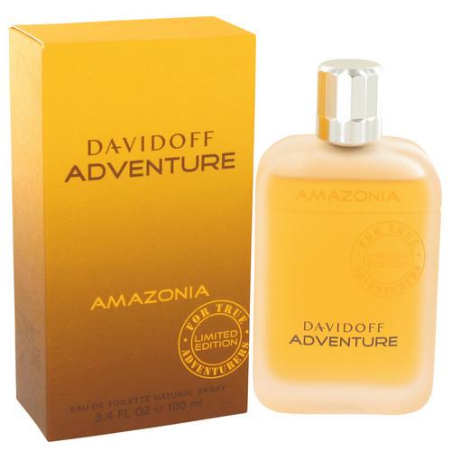 Davidoff Adventure Amazonia by Davidoff Eau De Toilette Spray 3.4 oz for Men