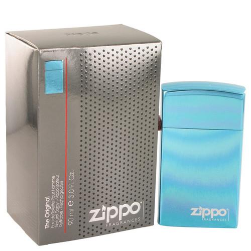 Zippo Blue by Zippo Eau De Toilette Refillable Spray 3 oz for Men