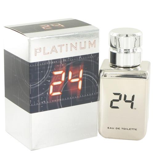 24 Platinum The Fragrance by ScentStory Eau De Toilette Spray 1.7 oz for Men