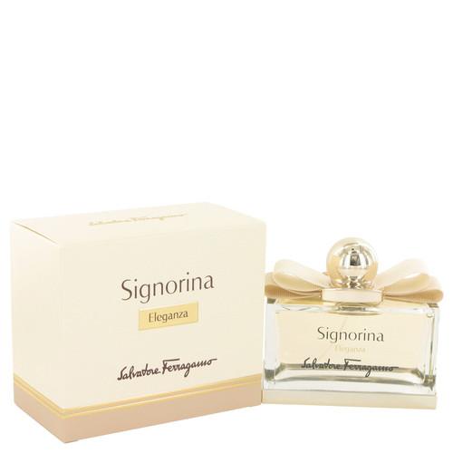 Signorina Eleganza by Salvatore Ferragamo Eau De Parfum Spray 3.4 oz for Women