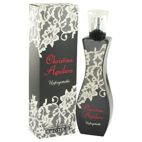 Christina Aguilera Unforgettable by Christina Aguilera Eau De Parfum Spray 2.5 oz for Women