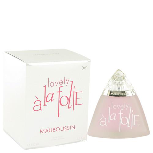 Mauboussin Love A La Folie by Mauboussin Eau De Parfum Spray 3.4 oz for Women