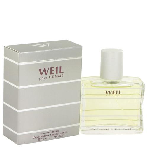 Weil Pour Homme by Weil Eau De Toilette Spray 1.7 oz for Men