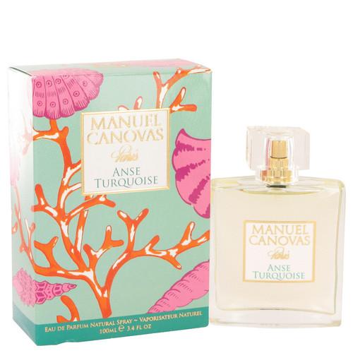 Anse Turquoise by Manuel Canovas Eau De Parfum Spray 3.4 oz for Women