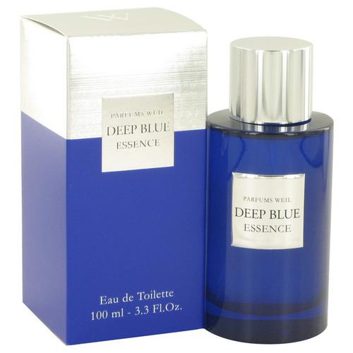 Deep Blue Essence by Weil Eau De Toilette Spray 3.3 oz for Men