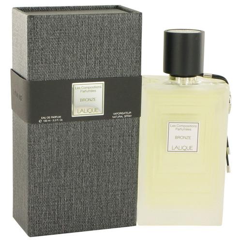 Les Compositions Parfumees Bronze by Lalique Eau De Parfum Spray 3.3 oz for Women