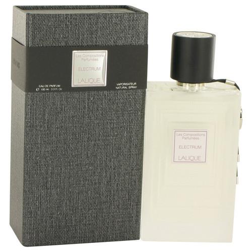 Les Compositions Parfumees Electrum by Lalique Eau De Parfum Spray 3.3 oz for Women