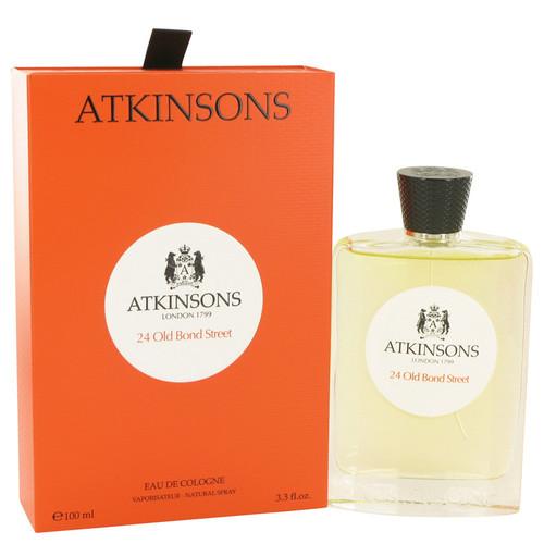 24 Old Bond Street by Atkinsons Eau De Cologne Spray 3.3 oz for Men