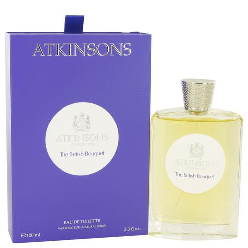 The British Bouquet by Atkinsons Eau De Toilette Spray 3.3 oz for Men