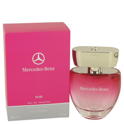 Mercedes Benz Rose by Mercedes Benz Eau De Toilette Spray 2 oz for Women