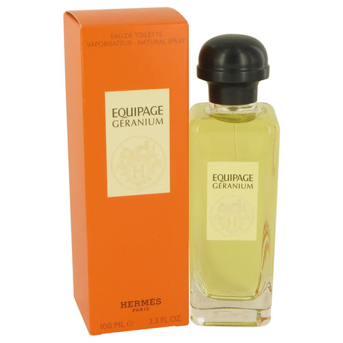 Equipage Geranium by Hermes Eau De Toilette Spray 3.3 oz for Women