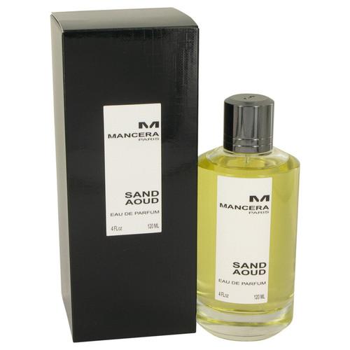 Mancera Sand Aoud by Mancera Eau De Parfum Spray (Unisex) 4 oz for Women
