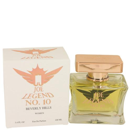 Joe Legend No. 10 by Joseph Jivago Eau De Parfum Spray 3.4 oz for Women