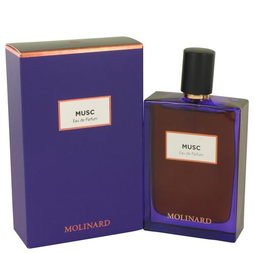 Molinard Musc by Molinard Eau De Parfum Spray (Unisex) 2.5 oz for Women