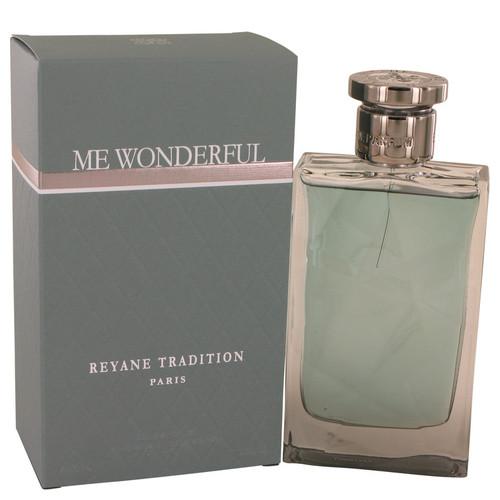 Me Wonderful by Reyane Tradition Eau De Parfum Spray 3.4 oz for Men