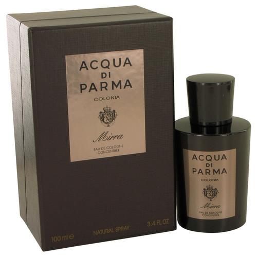 Acqua Di Parma Colonia Mirra by Acqua Di Parma Eau De Cologne Concentree Spray 3.4 oz for Men