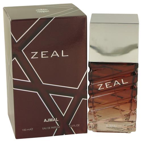 Ajmal Zeal by Ajmal Eau De Parfum Spray 3.4 oz for Men