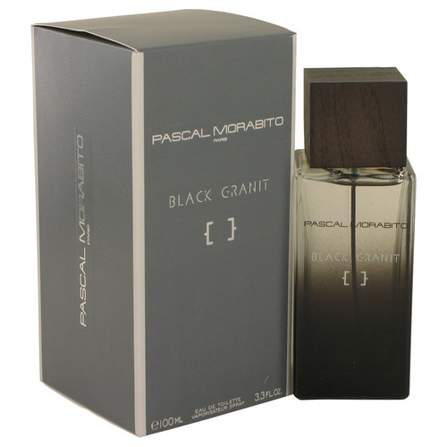Black Granit by Pascal Morabito Eau De Toilette Spray 3.3 oz for Men