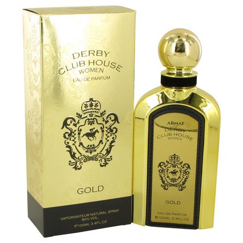 Armaf Derby Club House Gold by Armaf Eau De Parfum Spray 3.4 oz for Women