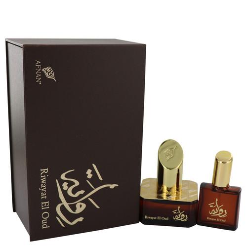 Riwayat El Oud by Afnan Eau De Parfum Spray + Free .67 oz Travel EDP Spray 1.7 oz for Women