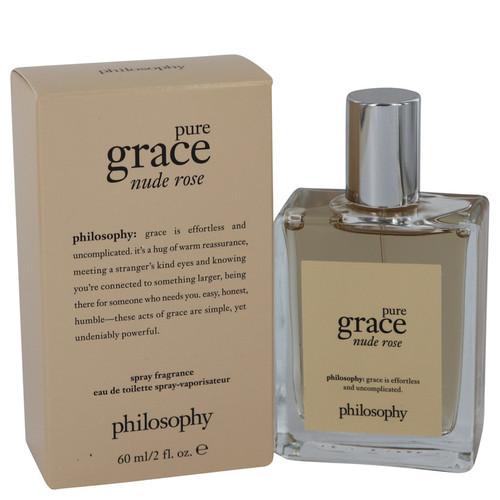 Pure Grace Nude Rose by Philosophy Eau De Toilette Spray 2 oz for Women
