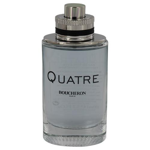 Quatre by Boucheron Eau De Toilette Spray (Tester) 3.4 oz for Men