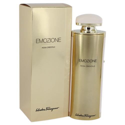 Emozione Rosa Orientale by Salvatore Ferragamo Eau De Parfum Spray 3.1 oz for Women
