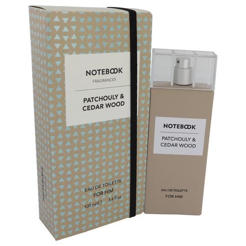 Notebook Patchouly & Cedar Wood by Selectiva SPA Eau De Toilette Spray 3.4 oz for Men