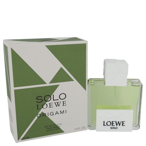 Solo Loewe Origami by Loewe Eau De Toilette Spray 3.4 oz for Men