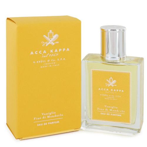 Vaniglia Fior Di Mandorlo by Acca Kappa Eau De Parfum Spray (Unisex) 3.3 oz for Women