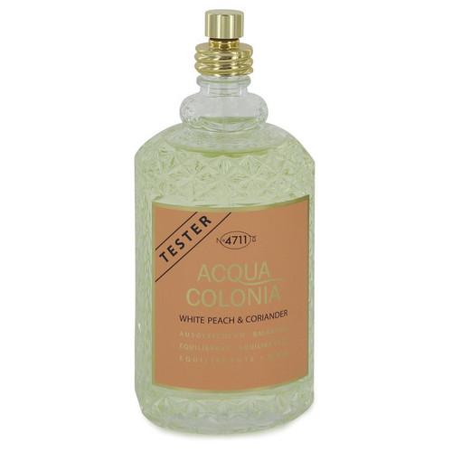 4711 Acqua Colonia White Peach & Coriander by 4711 Eau De Cologne Spray (Unisex Tester) 5.7 oz for Women