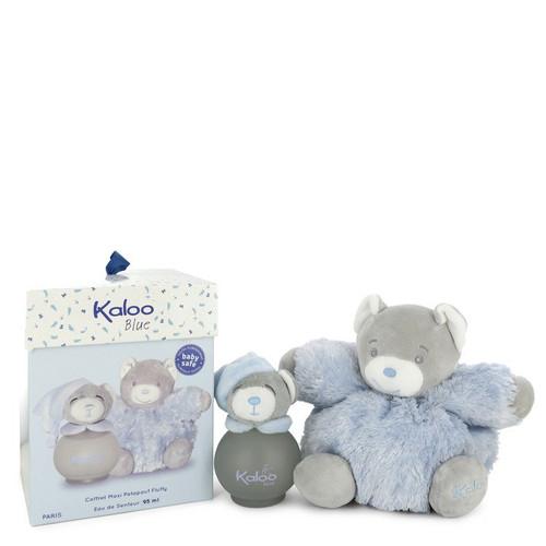 Kaloo Blue by Kaloo Eau De Senteur Spray (Alcohol Free) + Free Fluffy Bear 3.2 oz for Men