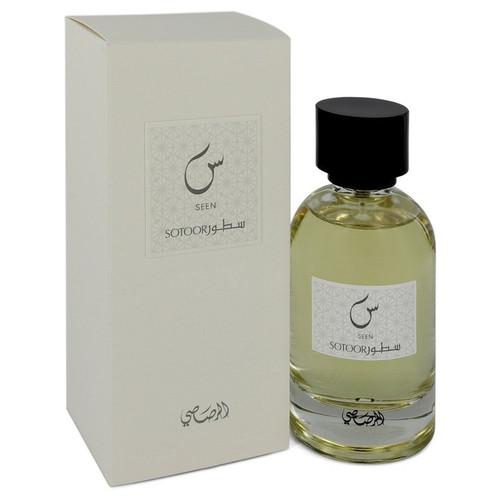 Sotoor Seen by Rasasi Eau De Parfum Spray 3.33 oz for Women