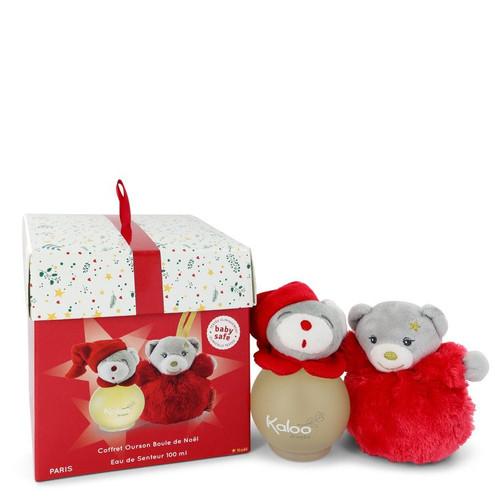 Kaloo Christmas by Kaloo Eau De Senteur Spray + Free Christmas Ball Bear 3.4 oz for Women