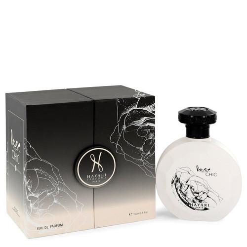 Hayari Rose Chic by Hayari Eau De Parfum Spray (Unisex) 3.4 oz for Women