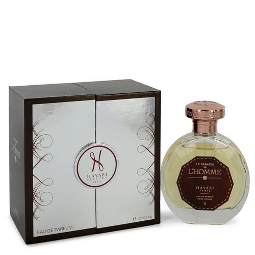 Hayari Le Paradis De L'homme by Hayari Eau De Parfum Spray 3.4 oz for Men