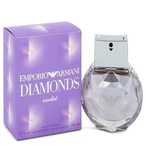 Emporio Armani Diamonds Violet by Giorgio Armani Eau De Parfum Spray 1 oz for Women
