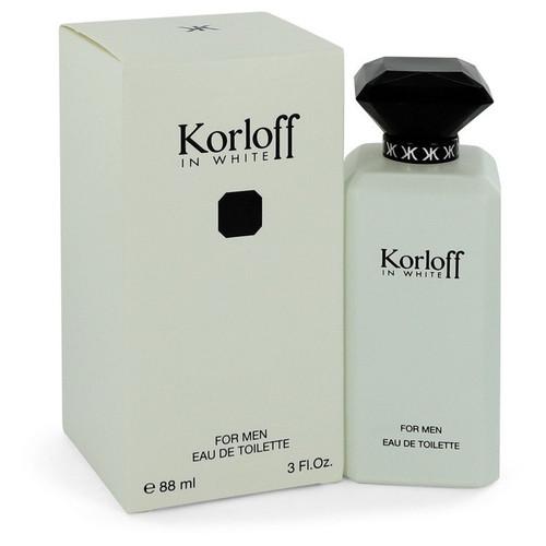 Korloff in White by Korloff Eau De Toilette Spray 3 oz for Men