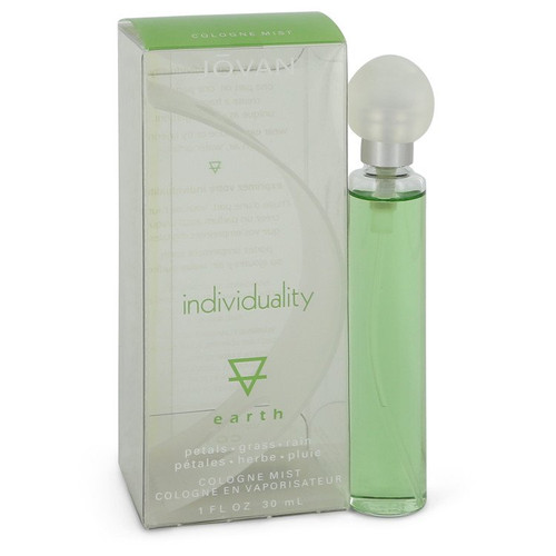 Jovan Individuality Earth by Jovan Cologne Spray 1 oz for Women