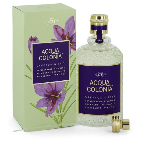 4711 Acqua Colonia Saffron & Iris by 4711 Eau De Cologne Spray 5.7 oz for Women
