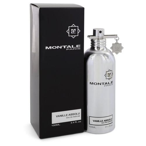 Montale Vanille Absolu by Montale Eau De Parfum Spray (Unisex) 3.4 oz for Women