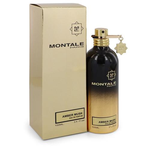 Montale Amber Musk by Montale Eau De Parfum Spray (Unisex) 3.4 oz for Women