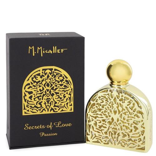 Secrets of Love Passion by M. Micallef Eau De Parfum Spray 2.5 oz for Women