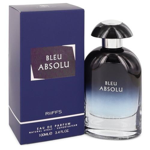 Bleu Absolu by Riiffs Eau De Parfum Spray (Unisex) 3.4 oz for Men