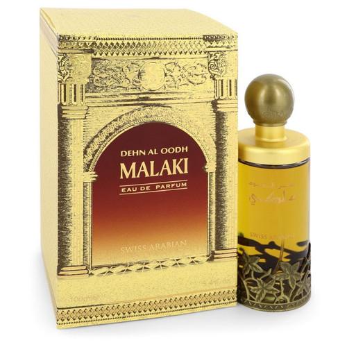 Dehn El Oud Malaki by Swiss Arabian Eau De Parfum Spray 3.4 oz for Men