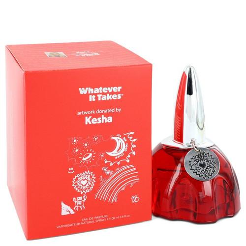 Whatever It Takes Kesha by Whatever it Takes Eau De Parfum Spray 3.4 oz for Women
