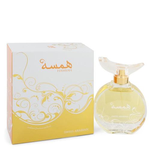 Swiss Arabian Hamsah by Swiss Arabian Eau De Parfum Spray 2.7 oz for Women