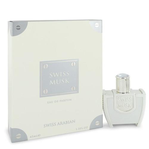 Swiss Musk by Swiss Arabian Eau De Parfum Spray (Unisex) 1.5 oz for Men